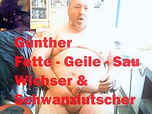 Günther Meindl ist eine Fette-Geile-Sau mit einem mini Schwanz